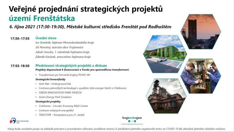 Veřejné projednání strategických projektů území Frenštátska