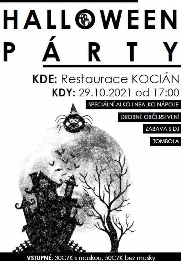Haloween party na Kociánu